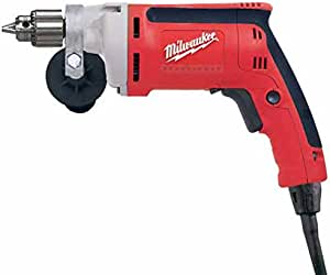 Milwaukee Electric Tool 0100-20 - Corded Drill or Driver - 7 A Power Rating, 1/4 in Chuck Size, Maximum Speed: 2500 rpm, Not Reversible, 4.7 lb Tool Weight