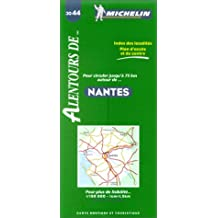 Michelin Nantes Map No. 3044