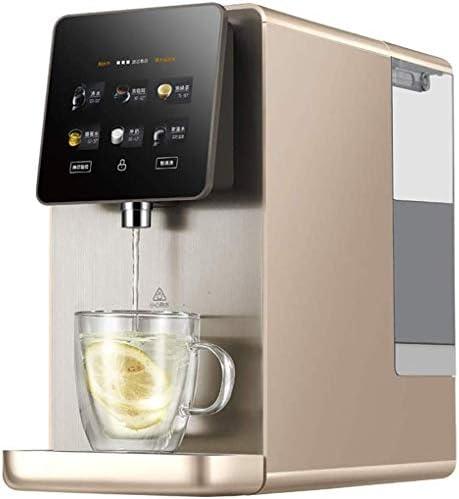 YHLZ Dispensador de Agua del hogar purificador de Agua de Escritorio Calefacción Recta Bebida Máquina de Filtro purificador de Agua Una máquina pequeña instalación Libre (Tamaño: 20 * 46 * 38 cm): Amazon.es
