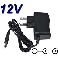 TopChargeur AC-adapter, oplader, 12 V, voor toetsenbord Arrangeur Yamaha YPT-255 PSR-E253