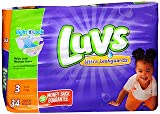 Health & Personal Care : Luvs Ultra Leakguards Diapers Size 3 - 4 packs of 34, Pack of 2