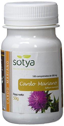 SOTYA - SOTYA Cardo Mariano 100 comprimidos 500 mg