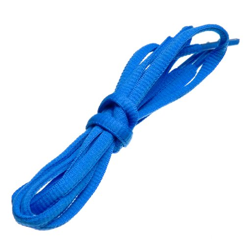 (BIRCH's Oval Shoelaces 27 Colors Half Round 1/4