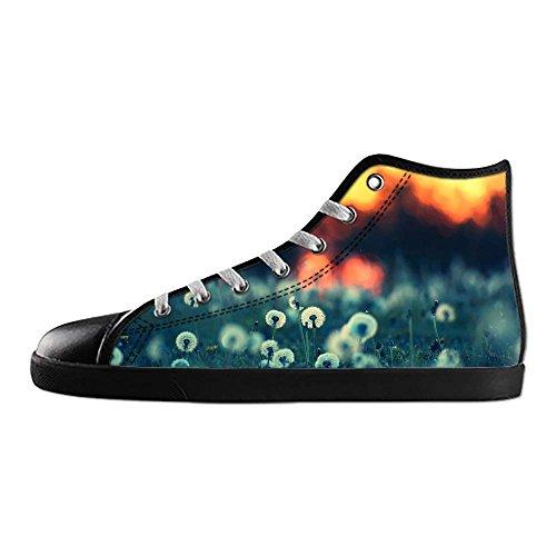 Alto Di I Da Dente Tetto Women's Ginnastica Delle Lacci Shoes Scarpe Leone Canvas Custom HY57wvqxq
