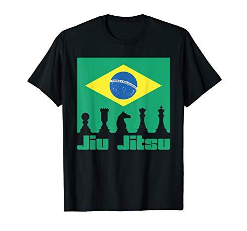 Brazilian Jiu Jitsu Shirt BJJ Cage Fighter MMA Gift Men Kids ()