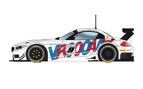 Scalextric BMW Z4 GT3 ROAL Motorsport Spa 2015 C3855 Toy
