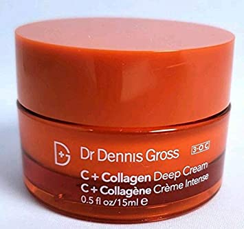 Dr. Dennis Gross C Collagen Deep Cream .5 oz. Deluxe Sample Mini no box or seal