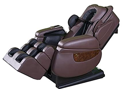 Amazing Luraco IRobotics 7 Medical Massage Chair (Chocolate Brown)