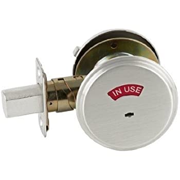 Schlage B571 One Sided Deadbolt With In Use Indicator