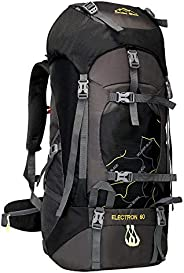 Hiking Backpacks 65L Water-Resistant, Anti-Scratch with PC Inside Bag and Back Ventilation System for Hiking,