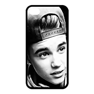 Justin Bieber New Fit For Iphone 4/4S 5/5S 5C Hard Case,Customized Case 1039443-ip4