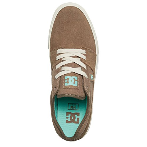 DC Herren Sneaker TONIK M SHOE - LIGHT BROWN/BROWN , Größe:9.5