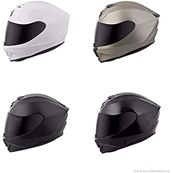 Scorpion EXO-R420 Full-Face Solid Street Bike Motorcycle Helmet - Matte Black/Medium. ""
