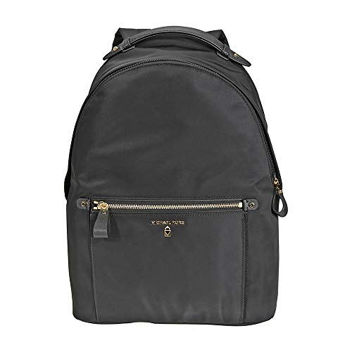 Michael Kors Women Nylon Kelsey Backpack Handbag, Black (Black)