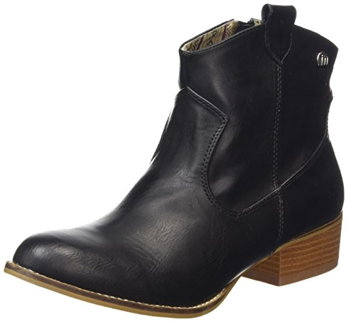 MTNG Mustang Womens 58412 Western Ankle Boot Shoes Black