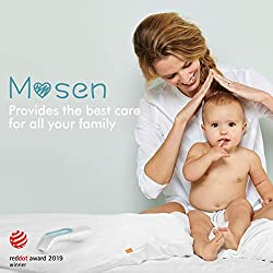 Mosen Medical Thermometer, Baby Thermometer,Thermometer for Kid and Adult, Ear and Forehead Thermometer,Digital Infrared Thermometro for Body, Surface and Room, with Magnetic Probe?2020 New Version?