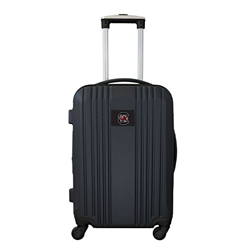 Denco NCAA South Carolina Fighting Gamecocks Round-Tripper Two-Tone Hardcase Luggage Spinner