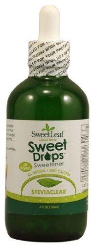 Sweet Leaf Stevia SteviaClear Liquid Stevia, Bottles, 4 oz