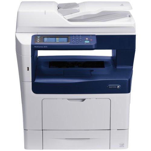 "Xerox Workcentre 3615Dn Laser Multifunction Printer . Monochrome . Plain Paper Print . Desktop . Copier/Fax/Printer/Scanner . 47 Ppm Mono Print . 1200 X 1200 Dpi Print . 42 Cpm Mono Copy . Touchscreen Lcd . 1200 Dpi Optical Scan . Automatic Duplex Print . 700 Sheets Input . Gigabit Ethernet . Usb ""Product Type: Printers/Multifunction Printers"""