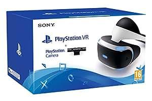 Sony Playstation 4 VR Headset | VR Camera | 3 VR Games: VR Worlds, Rigs & Until Dawn