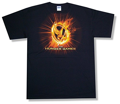 """Adult The Hunger Games """"In Your Favor"""" Black T-Shirt (2X-Large Tall)"""