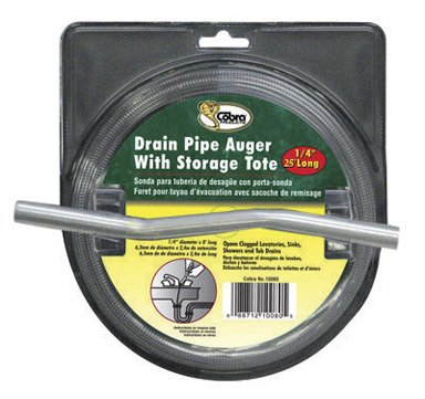 Cobra Plumbing 10250 1/4' X 25' Drain Auger Cobra Products Inc.