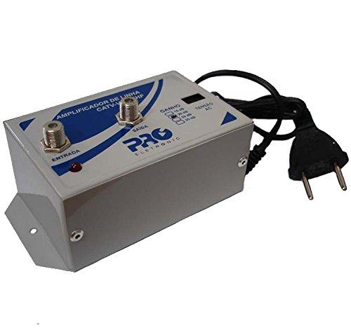 Amplificador de Linha Vhf/Uhf 20 Db Proeletronic PQAL-2000