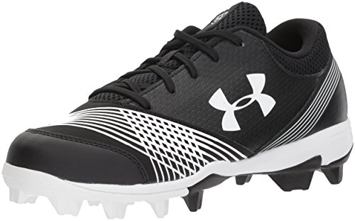 Under Armour Women's Glyde RM Softball Shoe, Black (011)/Black, (Lightweight Softball Cleats)