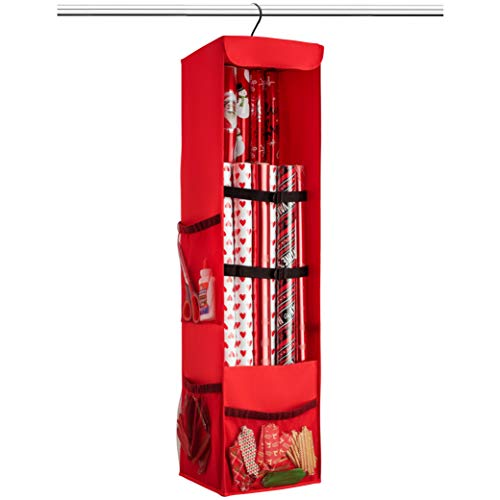 Premium Christmas Hanging Gift Wrap Organizer, With for sale  Delivered anywhere in Canada