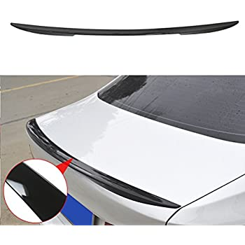 Painted For BMW 5-Series F10 A Type Roof P Performance Rear Boot Trunk Spoiler