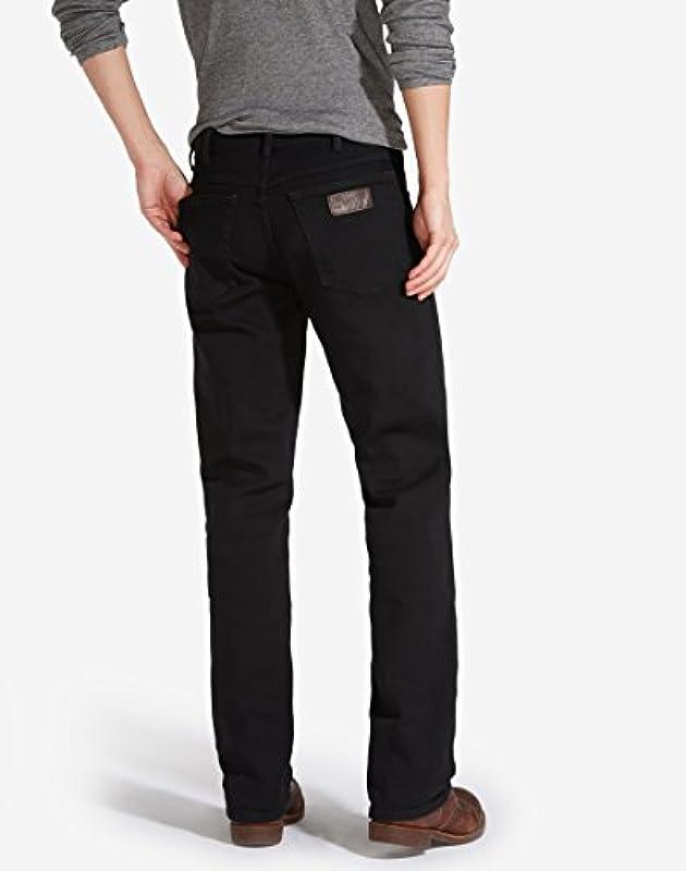 Wrangler Męskie Texas Tonal Straight Jeans: Odzież