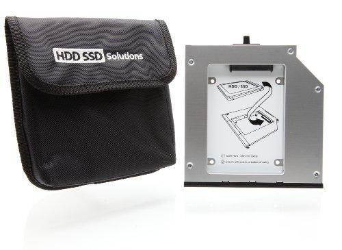 2nd HDD or SSD Caddy Lenovo ThinkPad T420,T430,T510,T520,T530, W510, W520, W530 (genuine Newmodeus)