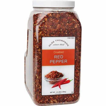 Olde Thompson Crushed Red Pepper, 3.5 lbs
