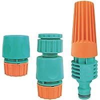 Conjunto Para Irrigação Tramontina Com Engates Rápidos E Esguicho 3 Peças