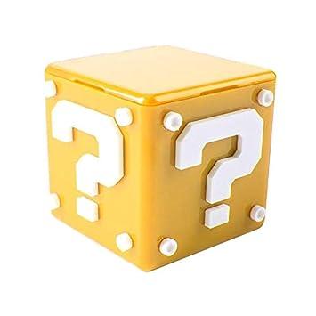 para conmutador de Nintendo, una pequeña Caja para la Tarjeta de Juego para almacenar 8 Cartas de Juego, 4 Cartas de TF Amarillo