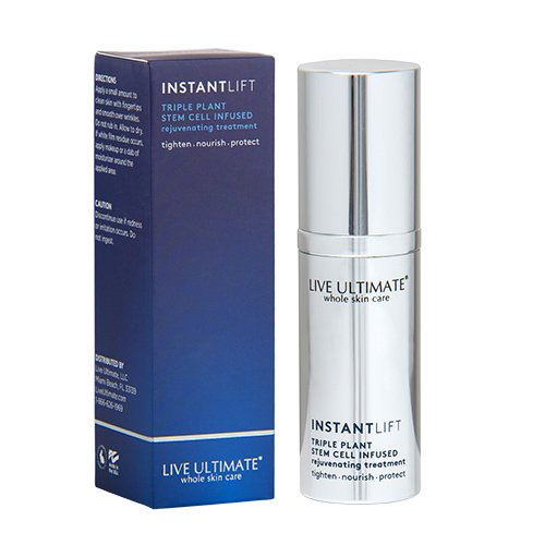 Instant Face Lift Rejuvenating Triple Stem Cell Treatment | Instant Skin Tightening and Lifting | Peptides Eliminate Wrinkles and Fine Lines | Fruitscription Formula Restores Cellular Youth for Immediate Results by Live Ultimate
