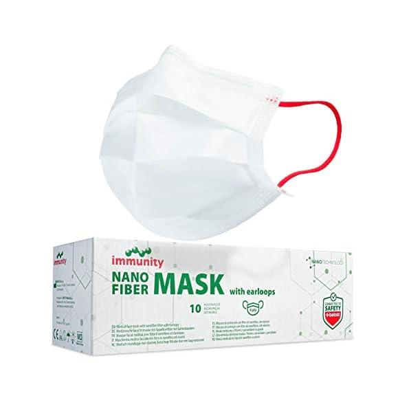BATIST-Nanofiber-Maske-Medizinische-Typ-IIR-zertifiziert-nach-EN-14683-Einzeln-verpackt-10-Stck-100-MADE-IN-EU-Nanofiber-Mundschutz