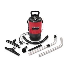 Sanitaire Quiet Clean Backpack Lightweight Vacuum