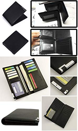 Portamonete 1 Pelle Portafoglio Wallet Cosstars In Borsellino Sottile Uomo Undertale Slim Piccolo Sintetica Nero Gioco 11 pwFF68X