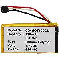 Cameron Sino 230mAh Battery for Motorola Motoactv, Motorola DECT 6.0, IT6, IT6-2