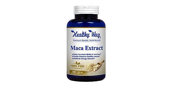 Amazon.com: Forma Saludable RX: negro puro extracto de Maca ...