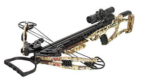 PSE Thrive 400 Crossbow Kryptek Highlander 175lbs 4x32 Illuminated Scope -