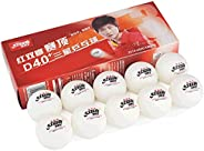 10 or 20 Ball DHS ABS D40+ 3* Orange Ping Pong Balls   ITTF Approved Table Tennis Balls for Official Competiti