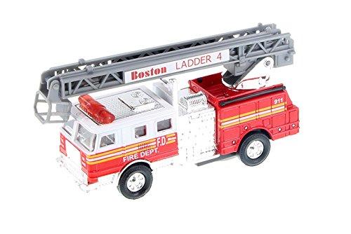 Boston Fire Department BFD Ladder Truck 1:64 Scale Engine Diecast - Boston Ladder