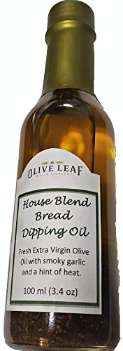 The Olive Leaf- Greek and Tunisian House Blend Gourmet Extra Virgin Olive Oil and Bread Dipping ()