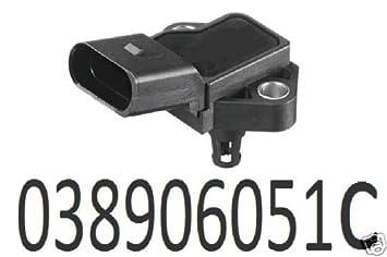 KIMISS Air Pressure Sensor Map Manifold Air Pressure Turbo Boost Sensor for 0281002437