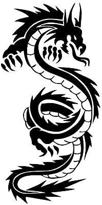 YANCONG Etiqueta de la Pared Dragón Chino para la Sala de Estar ...