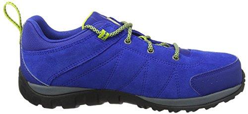 Columbia Youth Venture, Zapatillas de Senderismo Unisex Niños Azul (Azul, Zour)