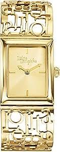 Lolita Lempicka Women`s Gold Dial Metal Band Watch [9501902]