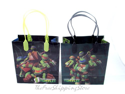 (Ninja Turtles Party Favor Goodies Gift/ Bags 24)